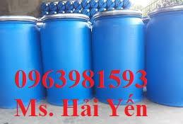 Chuyên cung cấp phuy nhựa làm bè, thùng phuy đựng dầu, phuy đựng dung môi công nghiệp