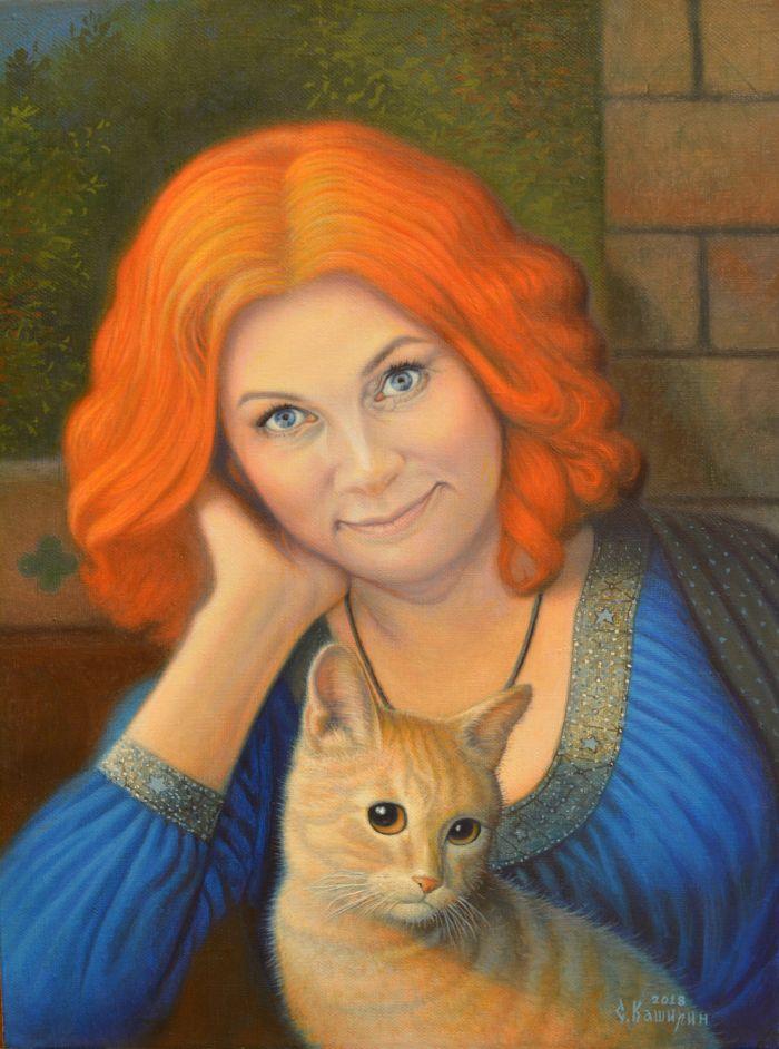 Портрет Алёны Ивановой