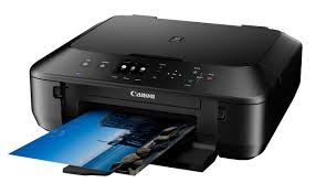 Orange light remains on Canon Pixma MG5xxx printers