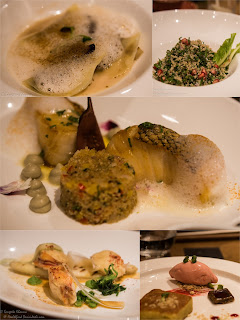 some inspiring food and flavours from the Au Natural menu at Sorrento, Sangri-La's Eros Hotel, New Delhi