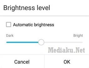 Kecerahan Layar HP Asus ZenFone
