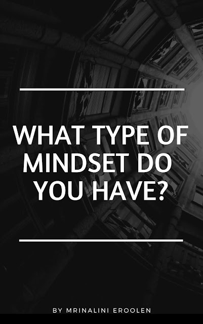 What Type Of Mindset Do You Have?