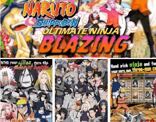 Naruto Ultimate Ninja Blazing MOD APK Terbaru