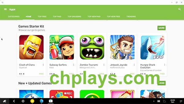 Cách tải CH Play - Google Play Store về máy tính, laptop đơn giản, dễ dàng c