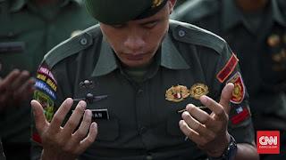 TNI Gelar Doa Bersama 17 17 17