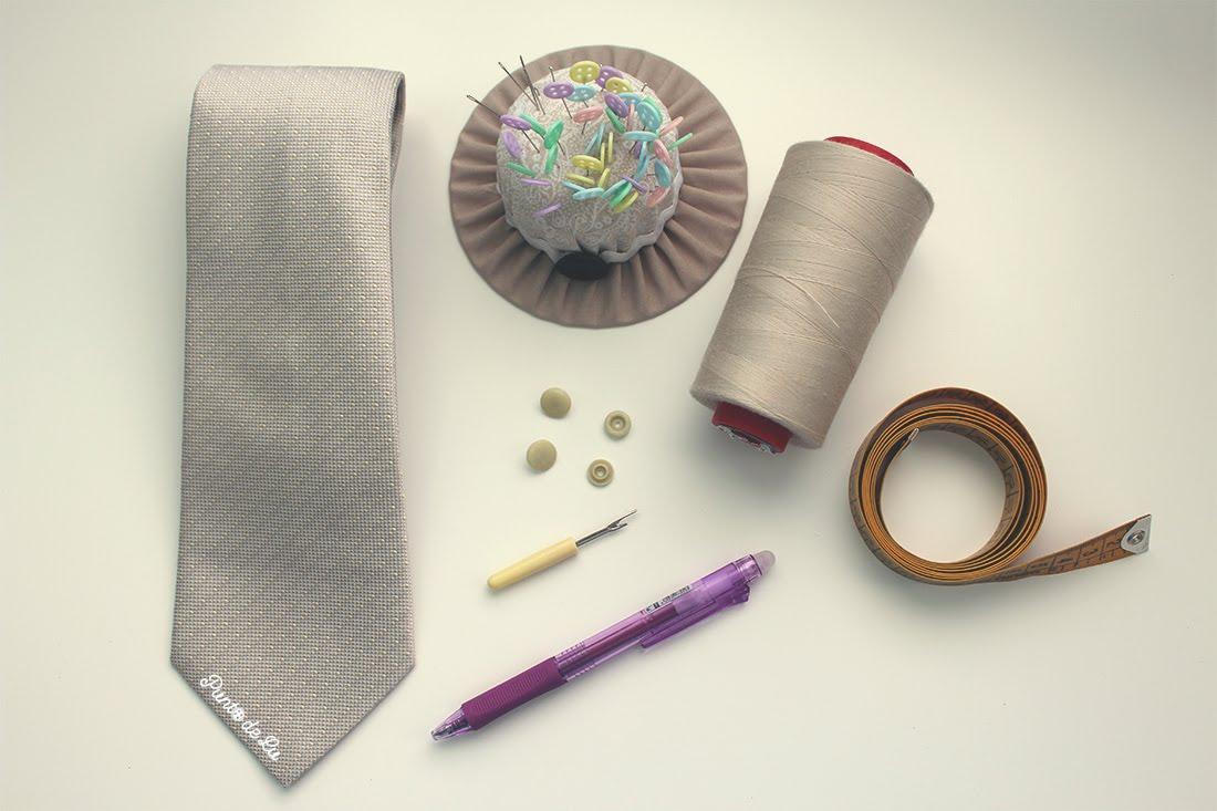 Costura fácil: funda para gafas - Materiales