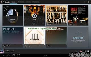 Tải ứng dụng TuneIn Radio Pro – Live Radio
