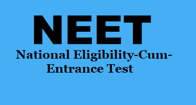 NEET 2017 Admit cards,neet results,neet answer key