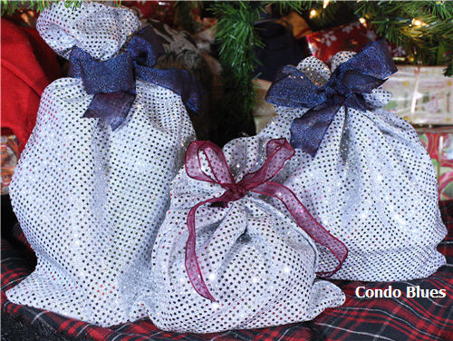 How to make zero waste money saving cloth gift bags