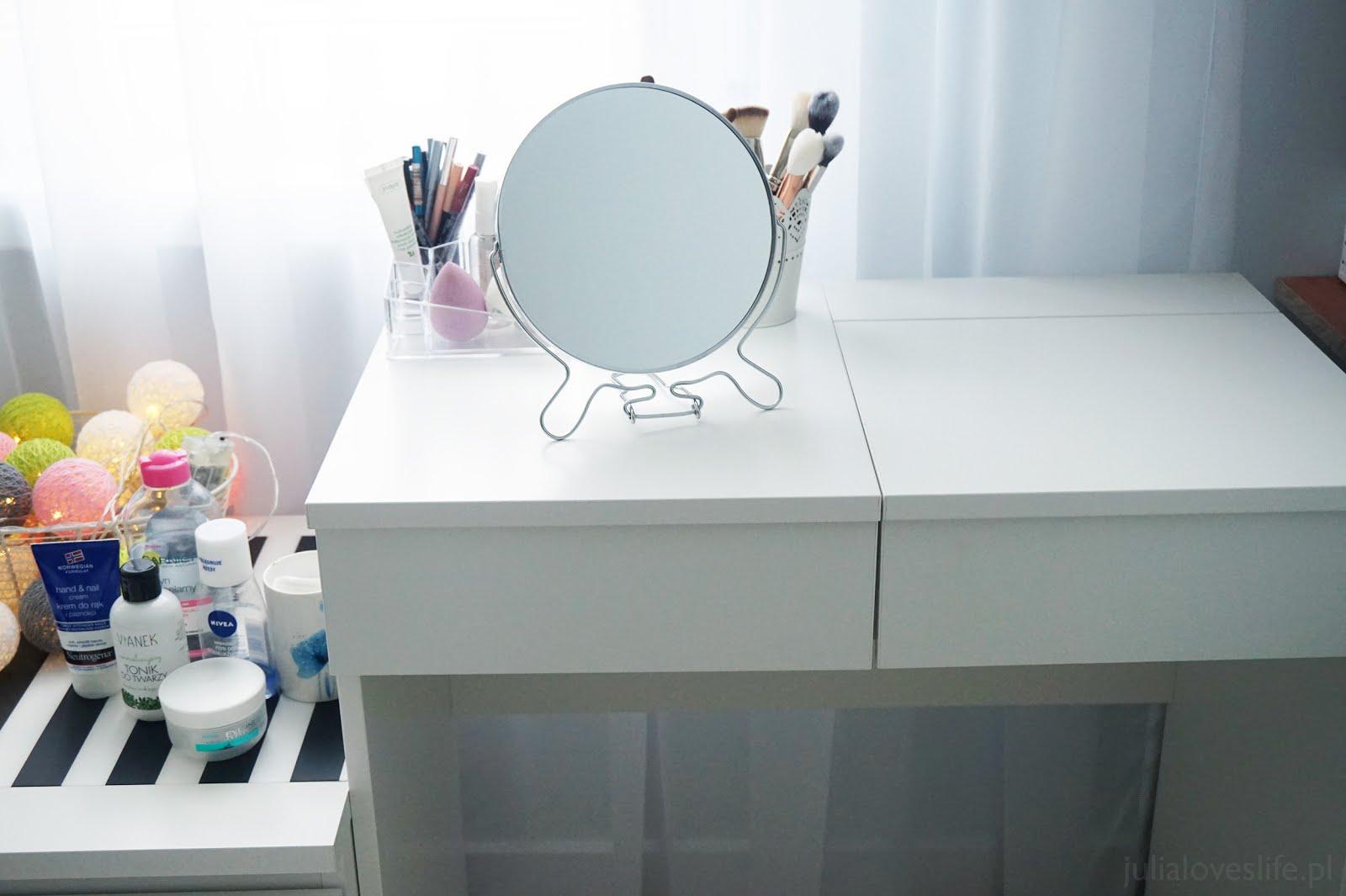 Moja toaletka i organizacja kosmetyków | Brimnes - IKEA
