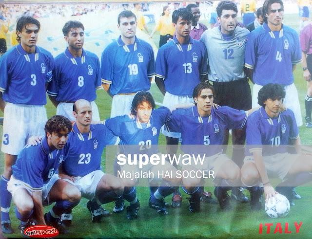 Timnas Italia 1997