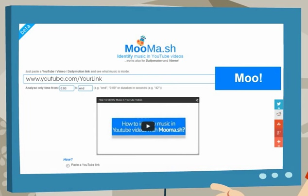 Moomash Identify Music in YouTube Videos MooMash - oukas info