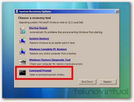Command Promt Windows 7