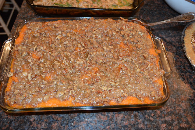 sweet potato souffle, best sweet potatoes ever, casserole, Thanksgiving