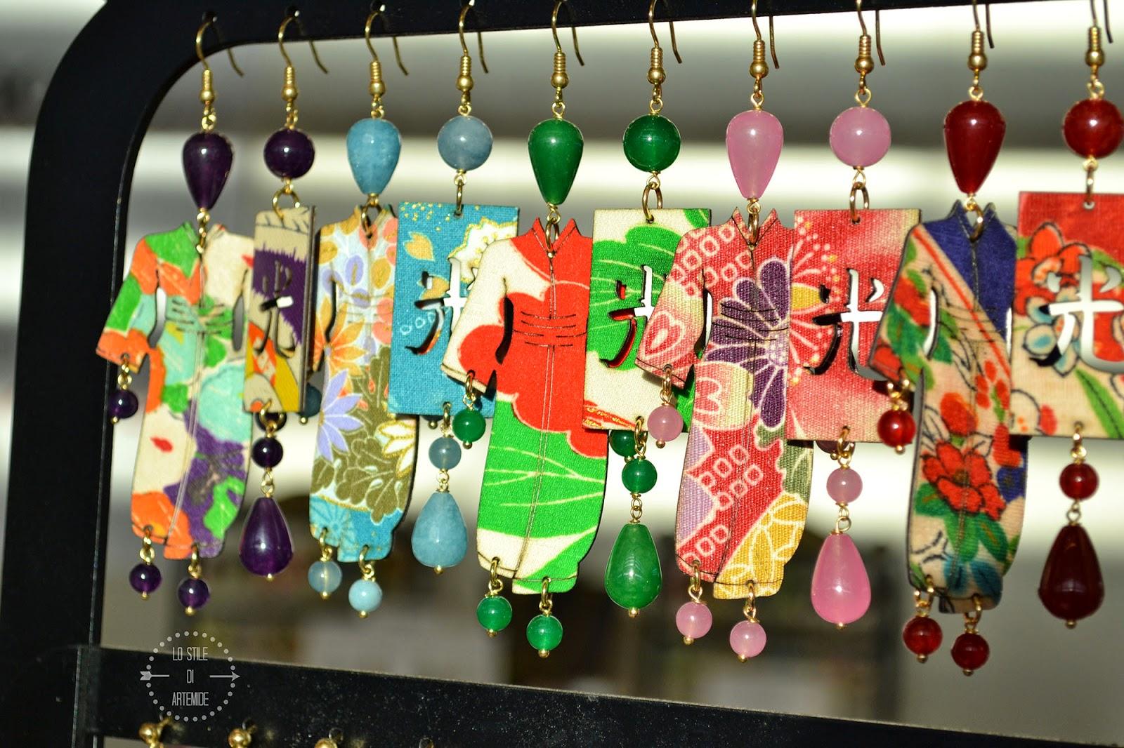 orecchini lebole kimono