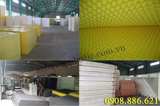 Cty TNHH sản xuất Nhựa Anh Dũng - Anh Dũng Plastic chuyên SX các loại mousse PU D16,D20,D25,D30,D40