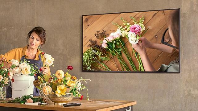 Samsung TV 65NU7105: panel 4K de 65'' + tecnología PurColor