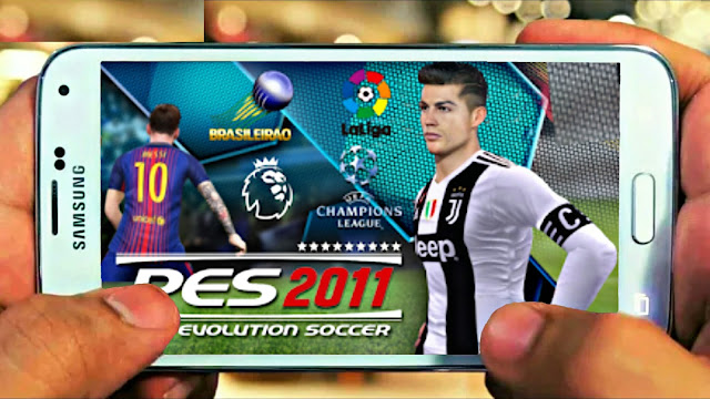 PES 2011 MOD 2019 Android Offline 50 MB New Transfer Update