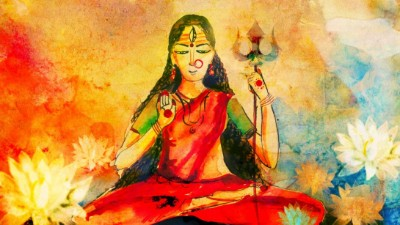 Hindu Goddess devi picture