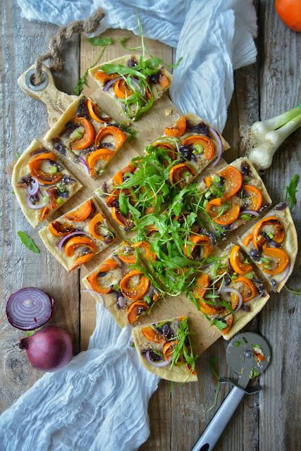 Pizza Simplissime à la Crème de Cajou et Potimarron