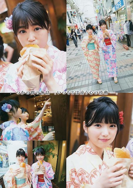 Keyakizaka46 Uemura Rina Gravure Ishimori Nijika YG 15 8