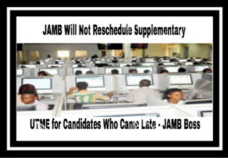 Image for Jamb supplementary 2017 UTME