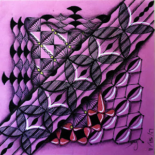 Refresher #83 with Patterns: Assunta, Geos, Bran, Graancirkel, Paris