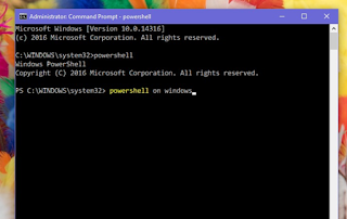 Cara Membuka PowerShell di Windows 10