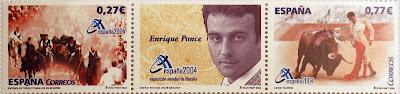 EXPOSICIÓN MUNDIAL DE FILATELIA, VALENCIA 2004, FIESTAS POPULARES