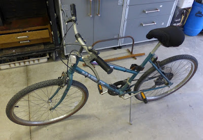 Huffy Trail bike from rummage sale