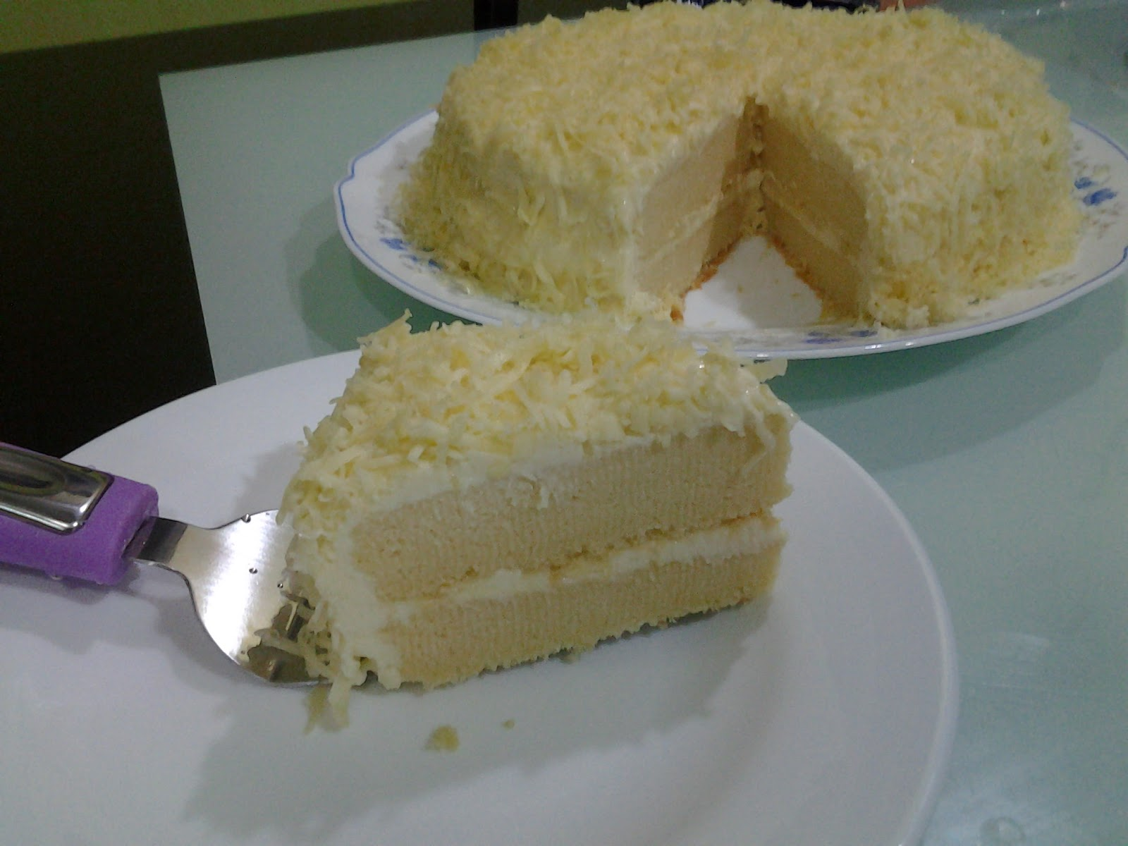 Deli sweetsour: SNOW CHEESE CAKE