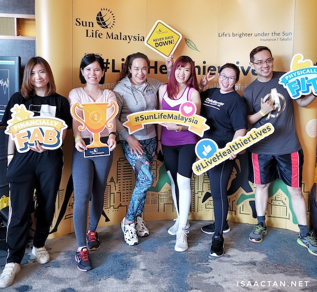 Sun Life Malaysia - Live Healthier Lives @ Kettlebowl's Fitness Party