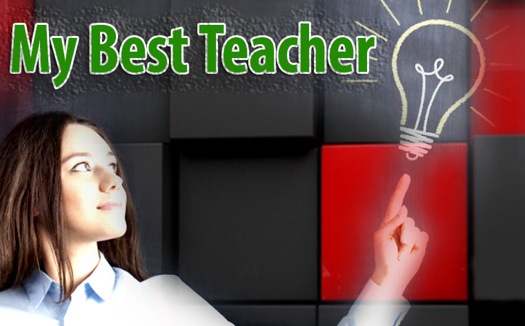 essay on best teacher