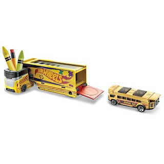 Hot Wheels Super Rigs Highway Hauler Truck Pencil Pusher Vehicle, crayon case, Mattel crayon case truck