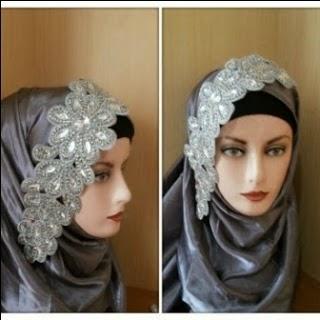 Aksesoris Jilbab Pesta Pengantin