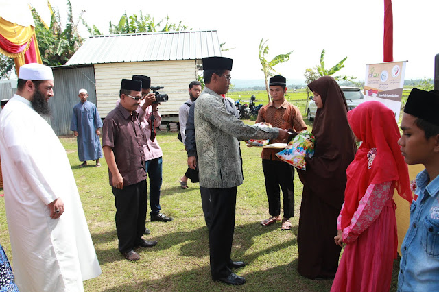 Alhamdulillah, 1000 Anak Yatim Aceh Terima Santunan
