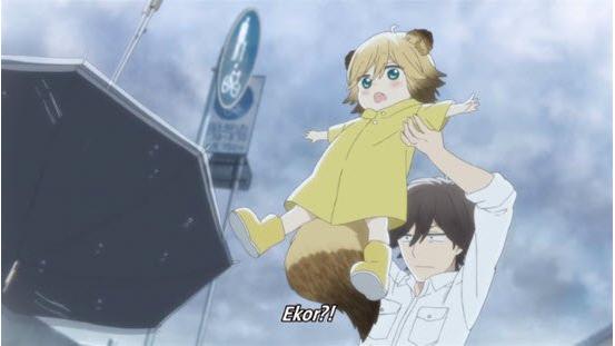 Download Anime Udon no Kuni no Kiniro Kemari Episode 1 Subtitle Indonesia
