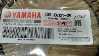 Subtitusi Kampas Kopling Honda All New Cb150R