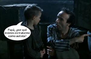 Giosuè y Guido, personajes de la película La vida es bella | Ximinia