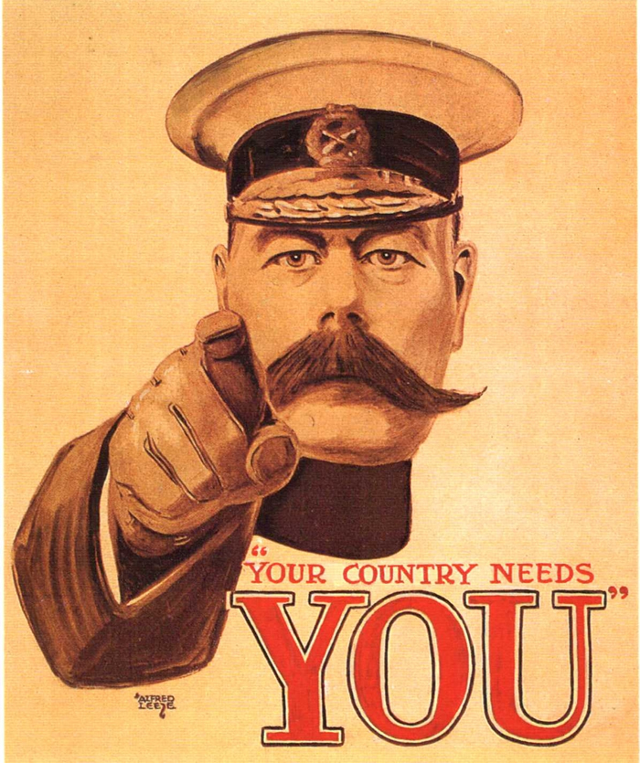 Kitchener poster: Your country needs you