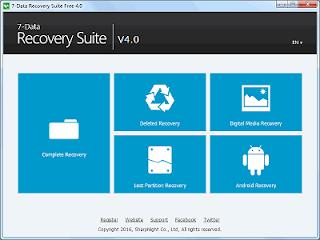 تحميل 7-DATA RECOVERY SUITE 4 مجاني لأستعادة الملفات المحذوفة