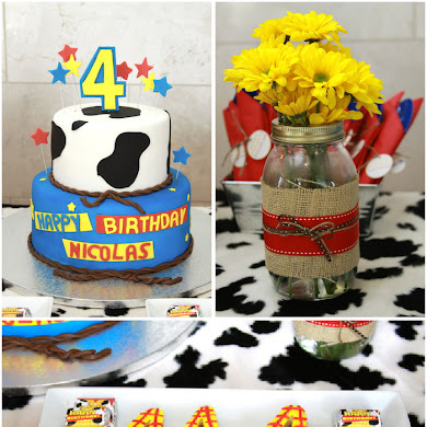 Woody's Cowboy Inspired Round Up Party