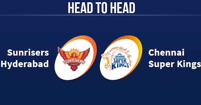 SRH vs CSK Head to Head: CSK vs SRH Head to Head IPL Records: IPL 2018