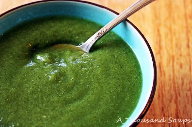 Cauliflower and Watercress Soup
