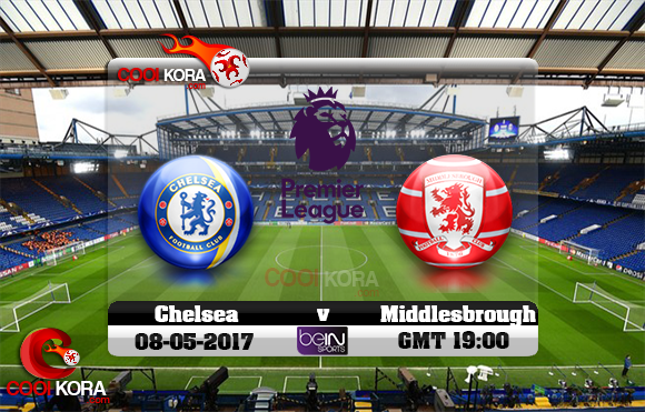 مشاهدة مباراة تشيلسي وميدلزبره اليوم 8-5-2017 في الدوري الإنجليزي