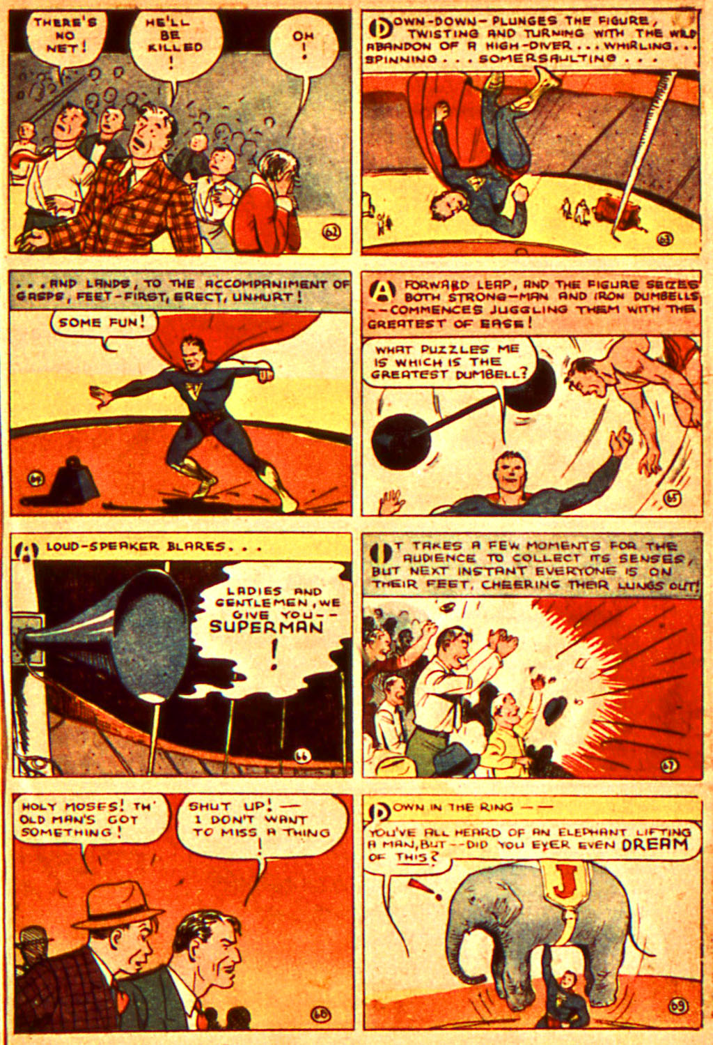 Read online Action Comics (1938) comic -  Issue #7 - 12