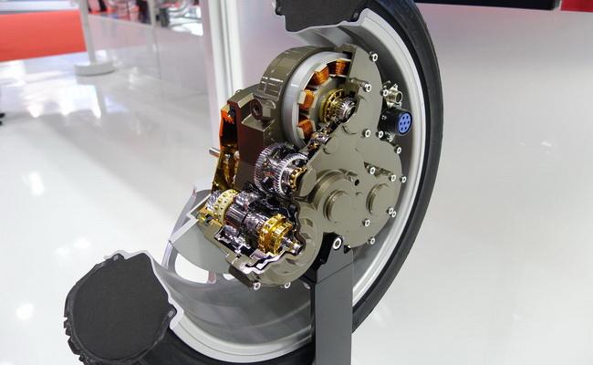 Tinuku Meet NSK's in-wheel motors concept
