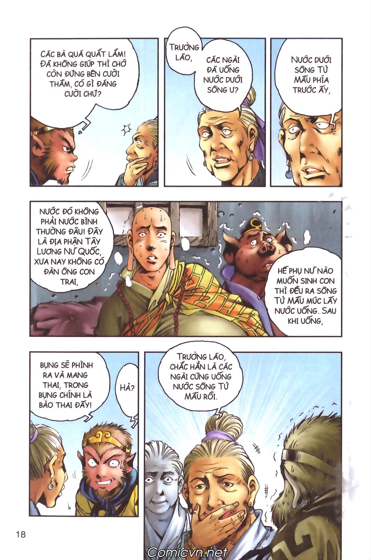 Tây Du Ký màu - Chapter 96 - Pic 16