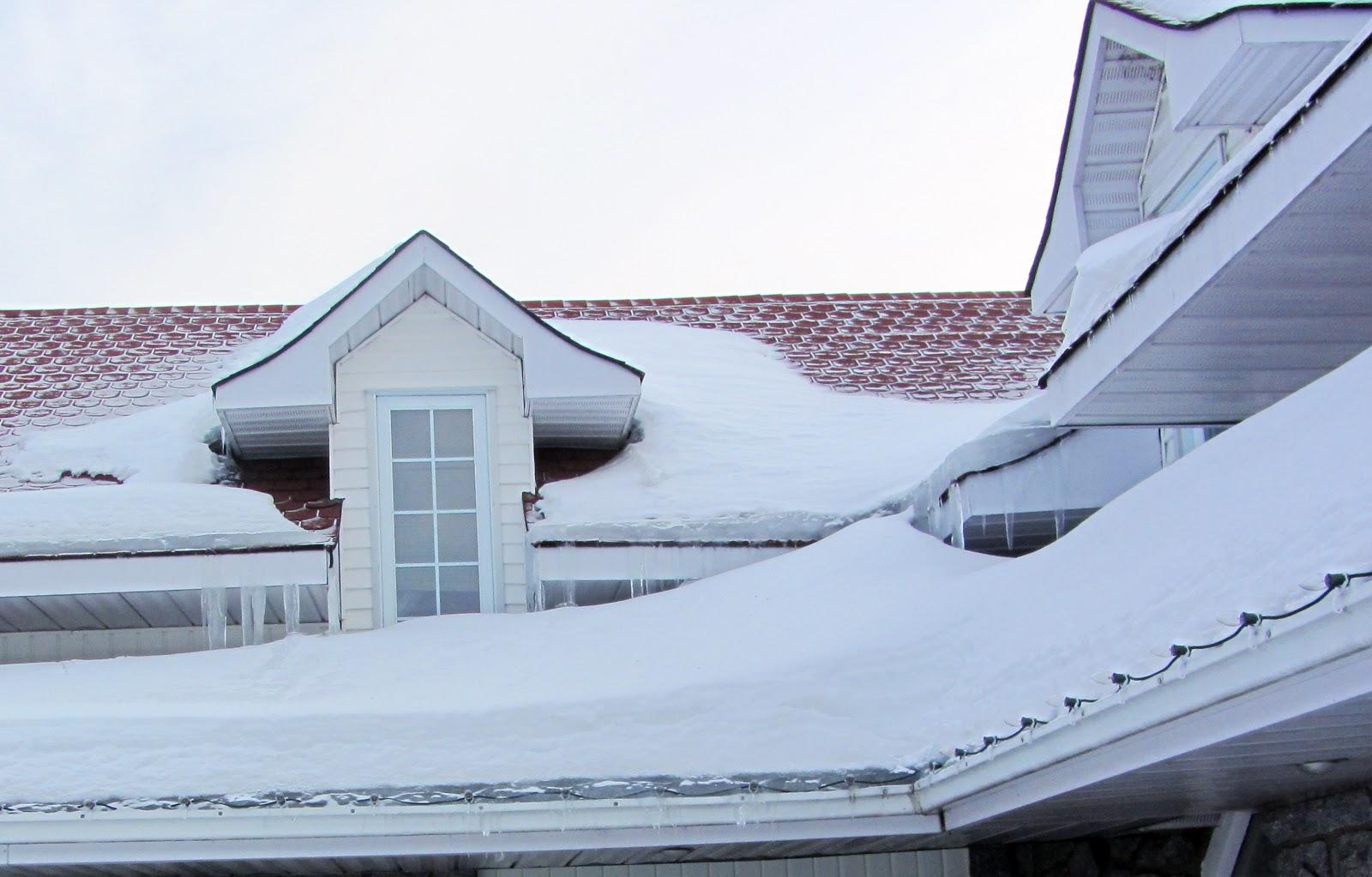 Ice Damming Ottawa Home Inspection Kanata Home