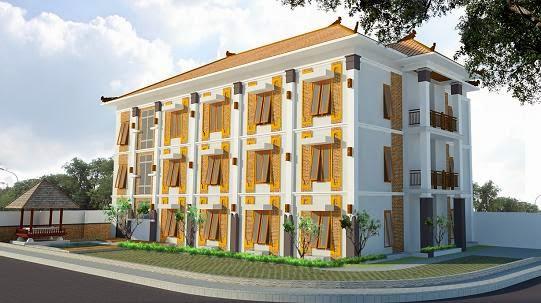 Jasa Desain Ruko Minimalis Modern Konsep Gedung Rumah kos